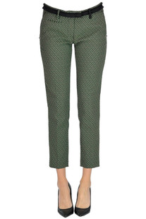 Jacquard fabric trousers Mason's