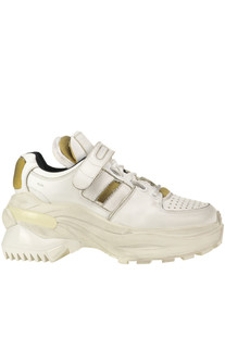 Destroyed leather Dad Sneakers Maison Margiela