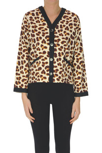 Animal print cardigan Bellerose