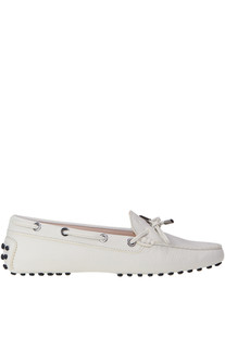 Heaven leather loafers Tod's
