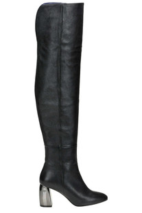 Leather over the knee boots Marc Ellis
