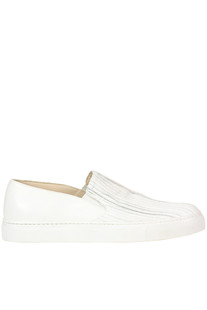 Leather slip-on sneakers Fabiana Filippi