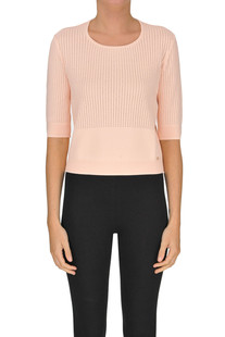 Cut-out knit pullover Elisabetta Franchi