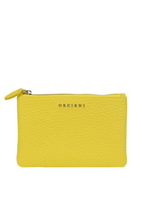 Leather pouch Orciani