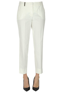 Chino cotton trousers Peserico