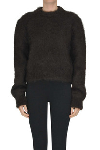 Mohair wool pullover Mulberry