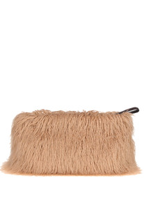 Eco-fur maxi clutch Dries Van Noten