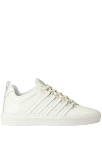 Reptile print leather sneakers K.Swiss