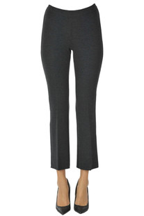 Wool knit trousers Incontro 7
