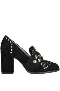 Studded suede pumps Alberto Gozzi