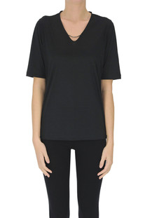 T-shirt in cotone Fabiana Filippi