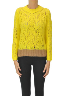Cut-out knit pullover Ferrante