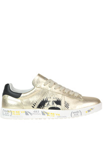 'Andy D' metallic effect leather sneakers Premiata