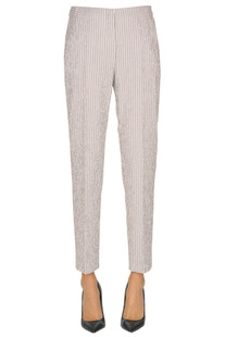 Striped cotton trousers Peserico