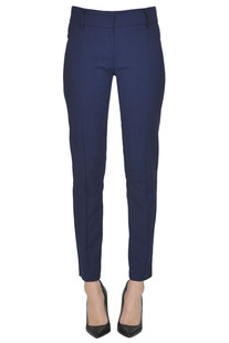 Stretch slim trousers Patrizia Pepe