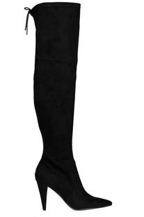 Over the knee suede boots Guess