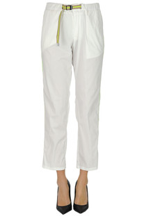 Cotton trousers White Sand