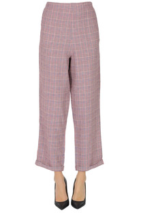 Prince of Wales print trousers Bellerose
