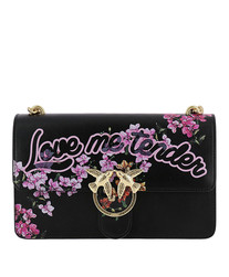 'Love me tender flowers' shoulder bag Pinko