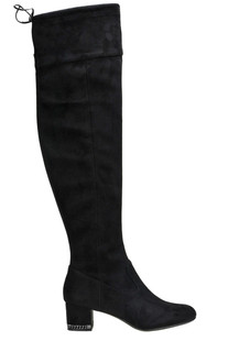 Suede over the knee boots Michael Michael Kors