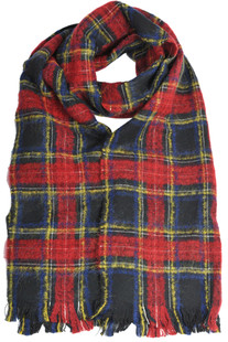 Checked print scarf Dondup