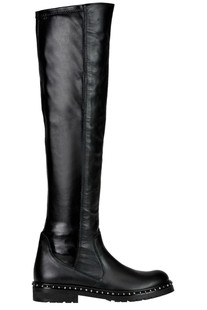 Leather heigh leg boots Maliparmi