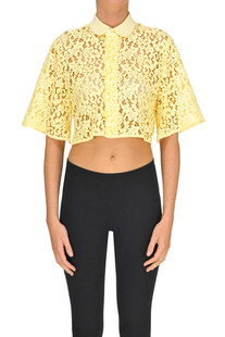 Cropped lace shirt Dondup