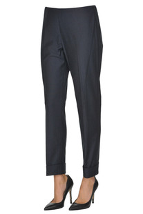 Piquet cotton trousers Peserico