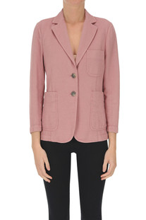 Cotton and lined blazer Keyfit