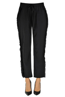 Techno fabric trousers RED Valentino