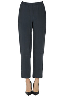 Cupro and viscose trousers Humanoid