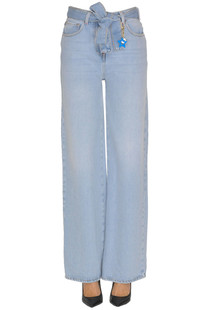Wide leg jeans Twin Set My Twin