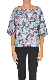 Printed cotton blouse Antonio Marras
