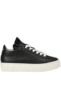 Leather sneakers Semi Couture