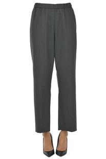 Pinstriped trousers Dries Van Noten