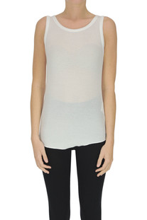 Ribbed modal tank-top Closed