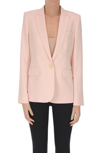 Blazer in fresco lana Stella McCartney