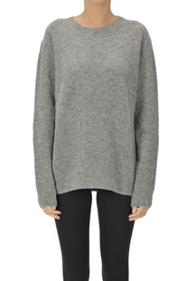 Rounded neckline pullover Dondup