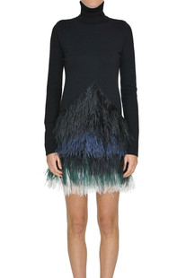 Feathers dress N.21
