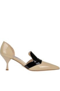 Patent-leather pumps Prada