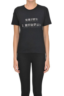 Designer logo t-shirt Saint Laurent