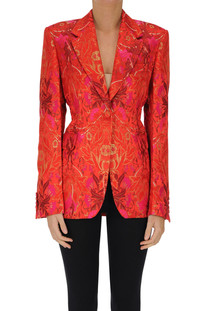 Brocade fabric blazer Dries Van Noten