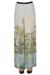 Printed crepè trousers Antonio Marras