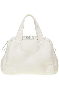 Glam Slam quilted leather tote bag Maison Margiela