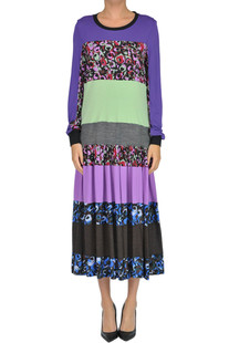 Printed long dress Marni
