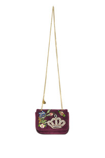 Embellished velvet bag Twinset Milano