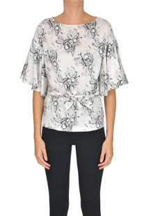 Printed silk top L'Autre Chose