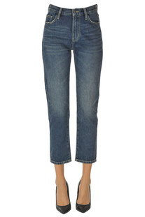 Cropped slim jeans Current Elliott