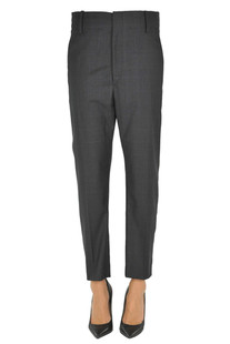 Prince of Wales print trousers Isabel Marant