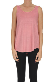 Linen tank-top Base Milano